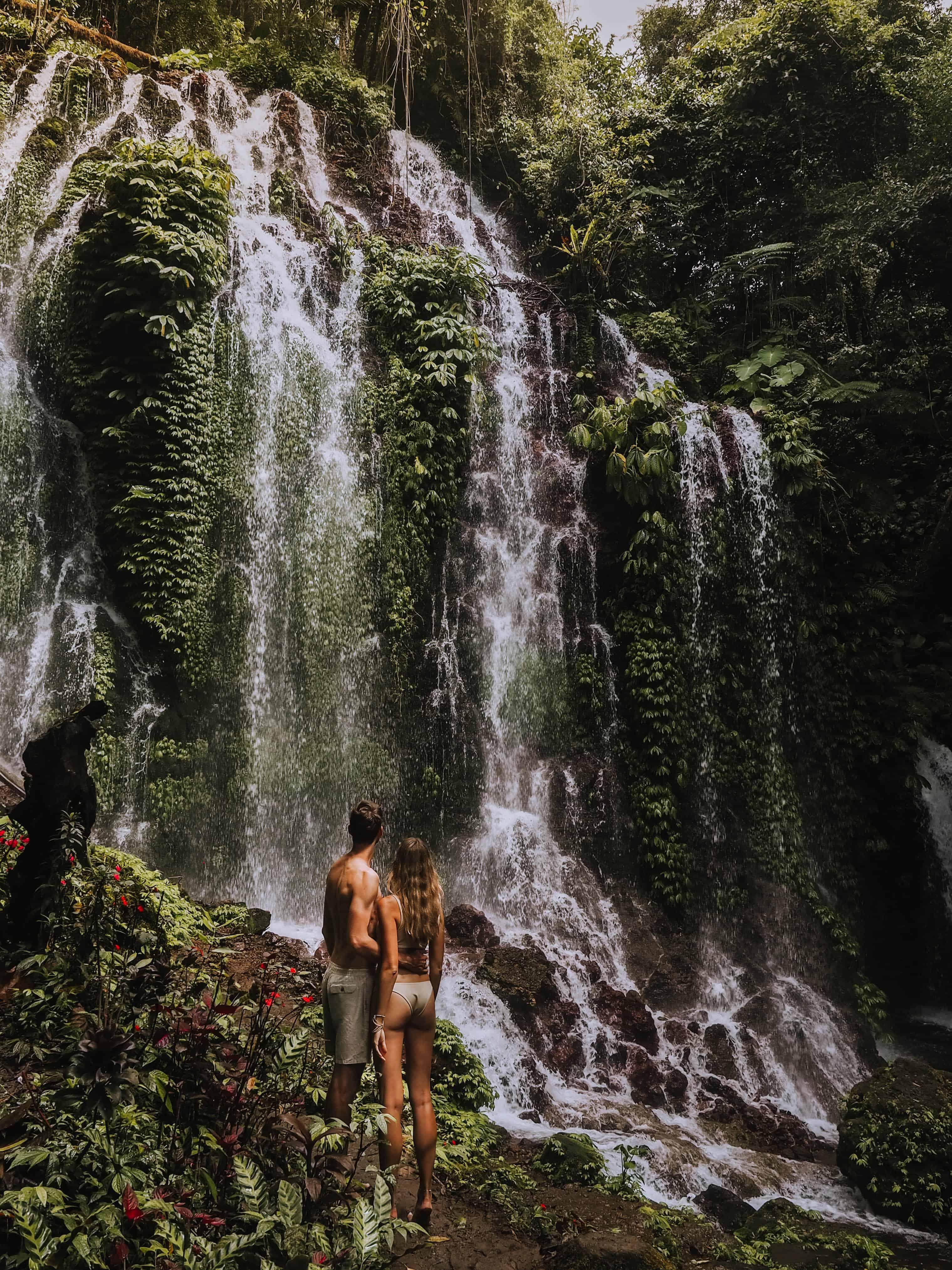 Bali Munduk Waterfall Couple