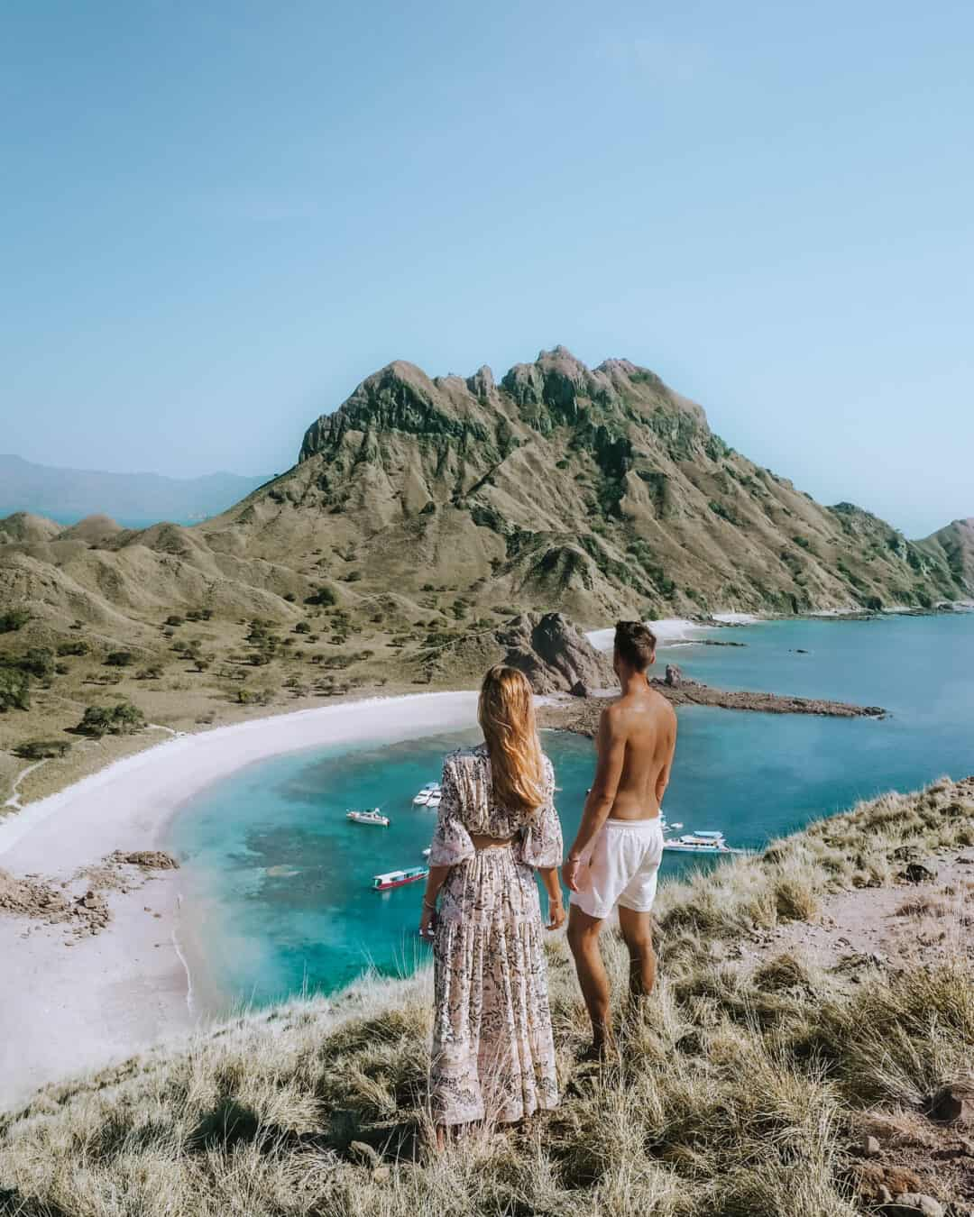 Komodo Padar Island Couple