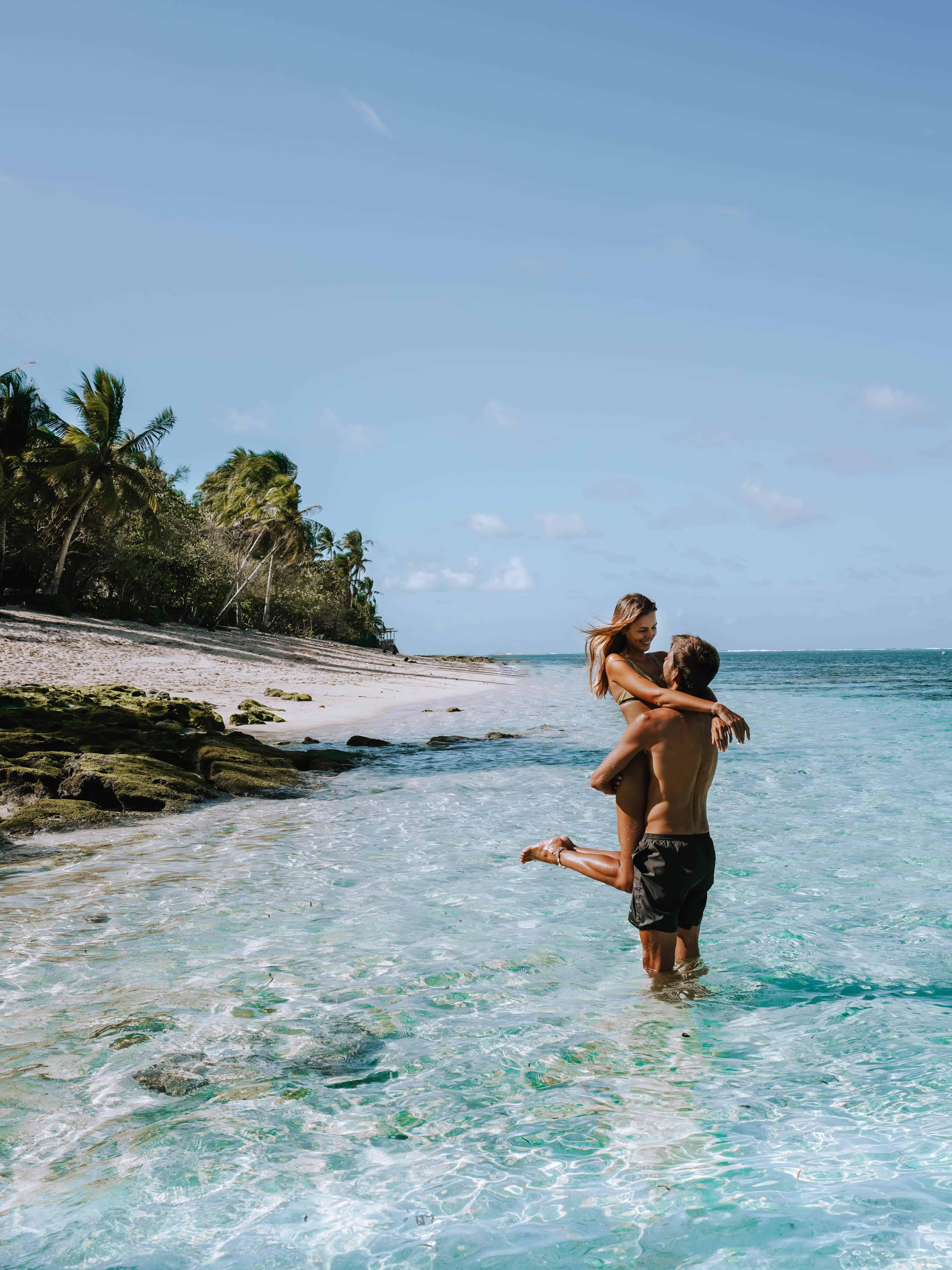 Siargao Alegria Beach Couple Water