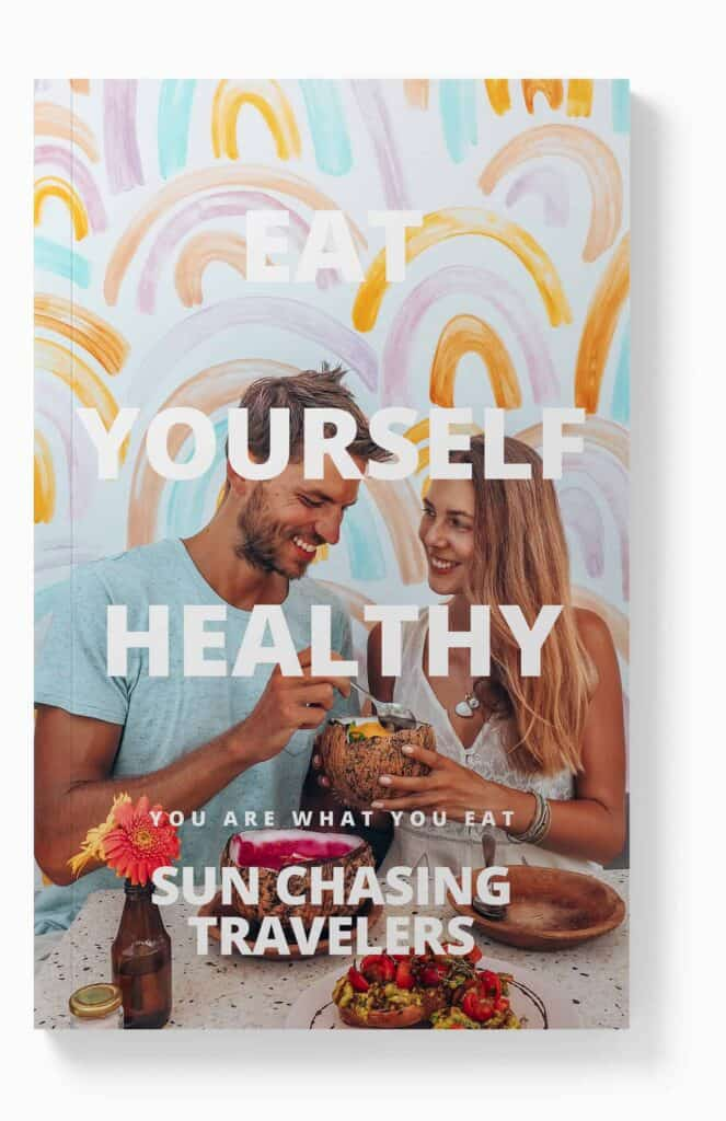front cover ebook eat yourself healthy