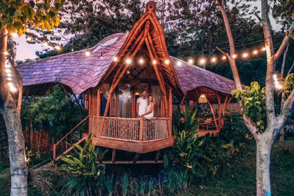 Bird Hills Bamboo House Bali