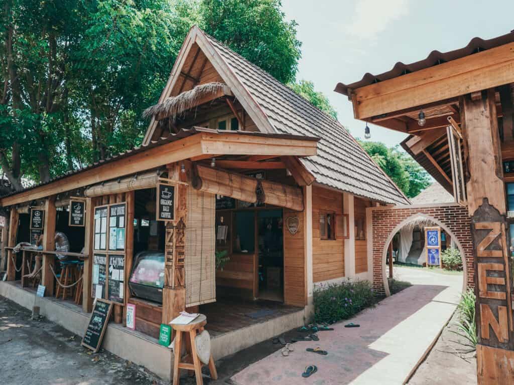 Earth Cafe on Gili Air