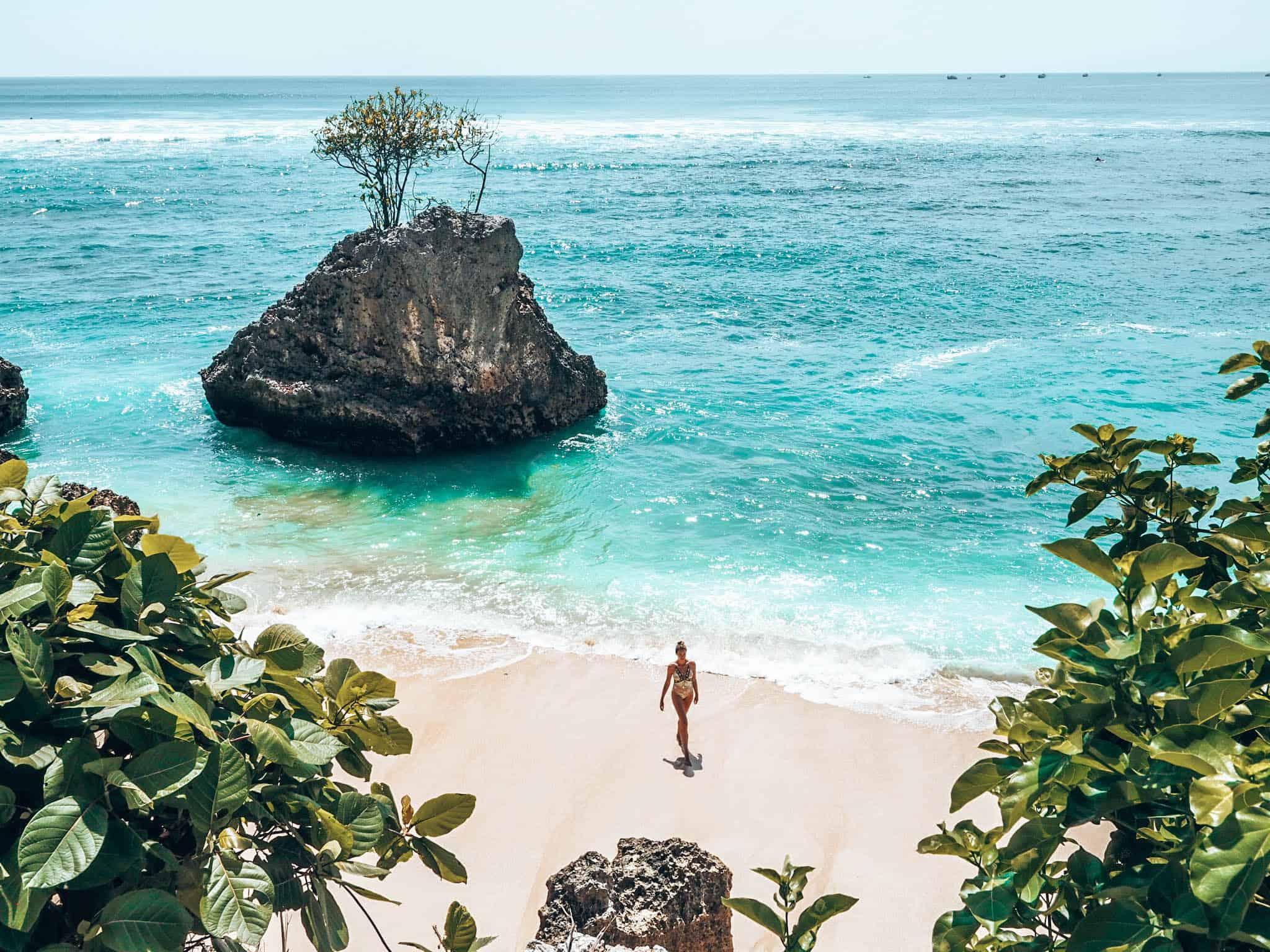 Padang Beach Uluwatu Bali