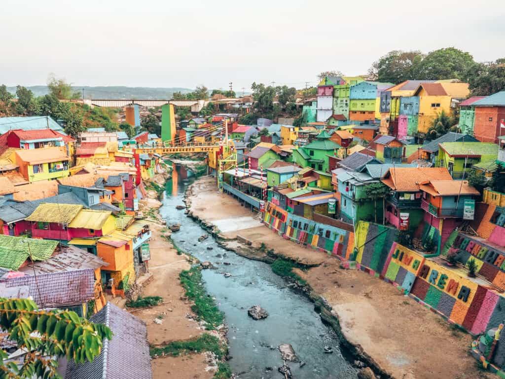 Semarang Rainbow Village Java