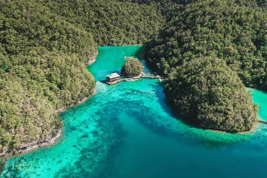Sugba Lagoon Siargao Boat House