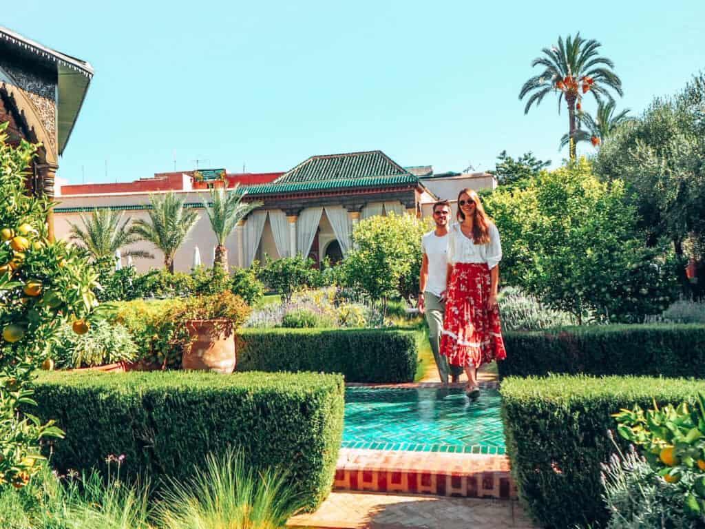 Marrakesh Jardin Secret Garden Couple