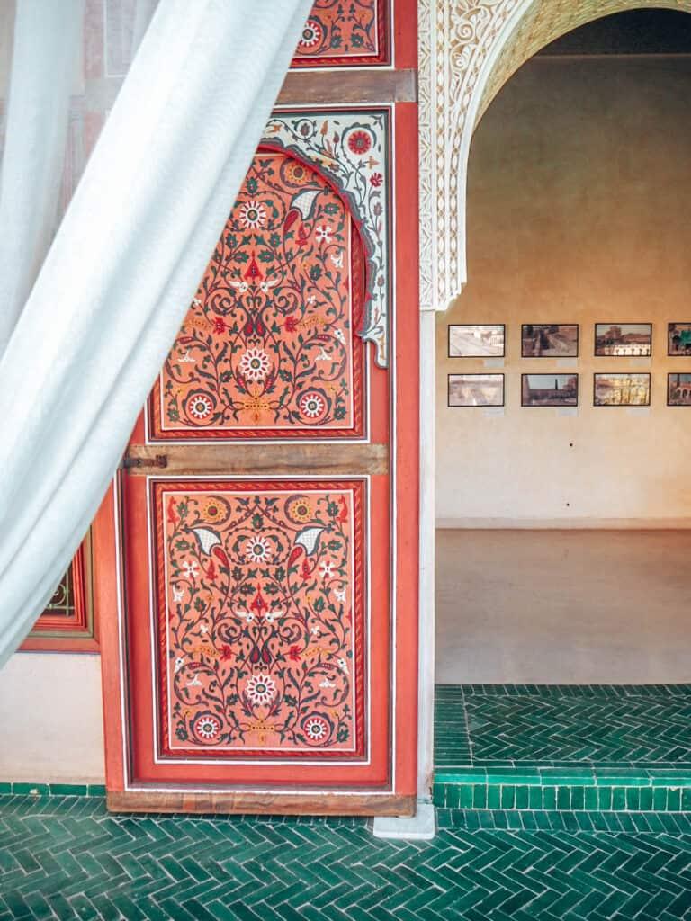 Marrakesh Jardin Secret Door