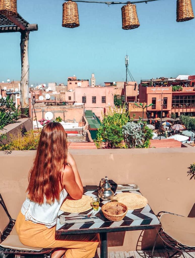 Marrakesh Nomad Restaurant Rooftop
