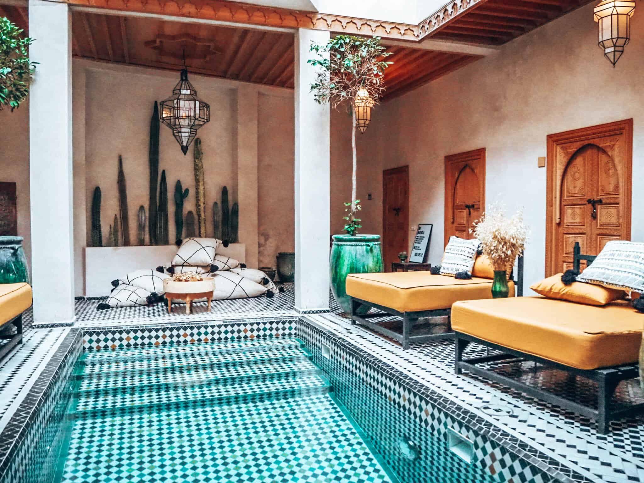 Marrakesh Riad BE Pool