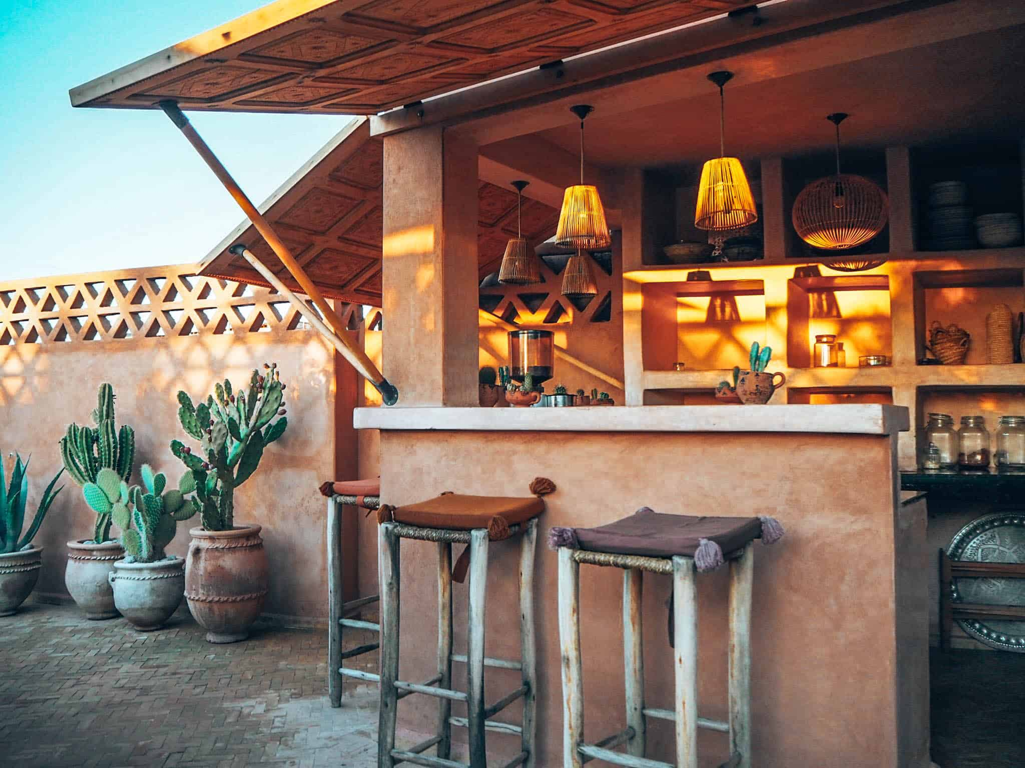 Marrakesh Riad BE Rooftop Bar