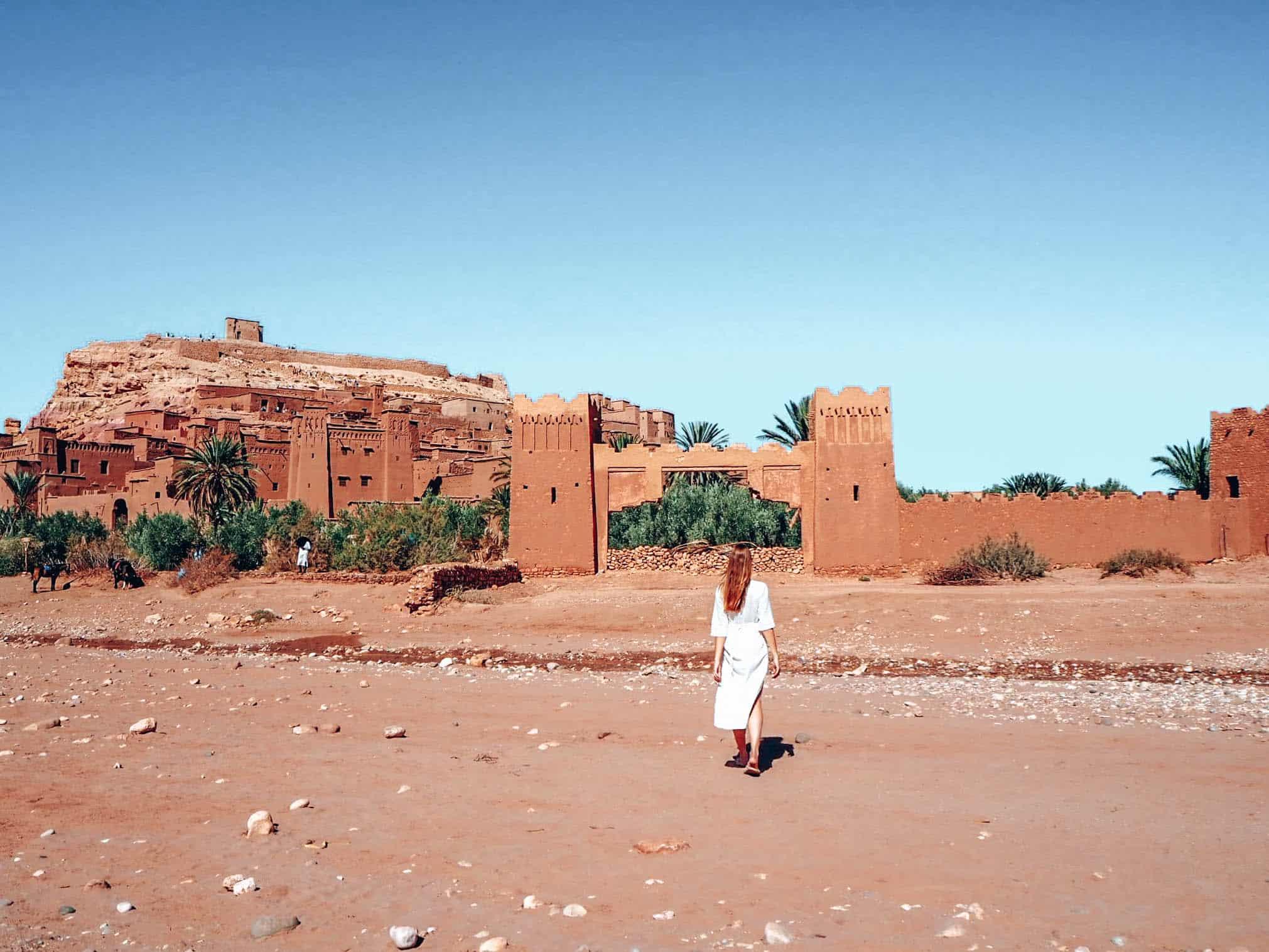 Marrakesh Aid Benhaddou Woman