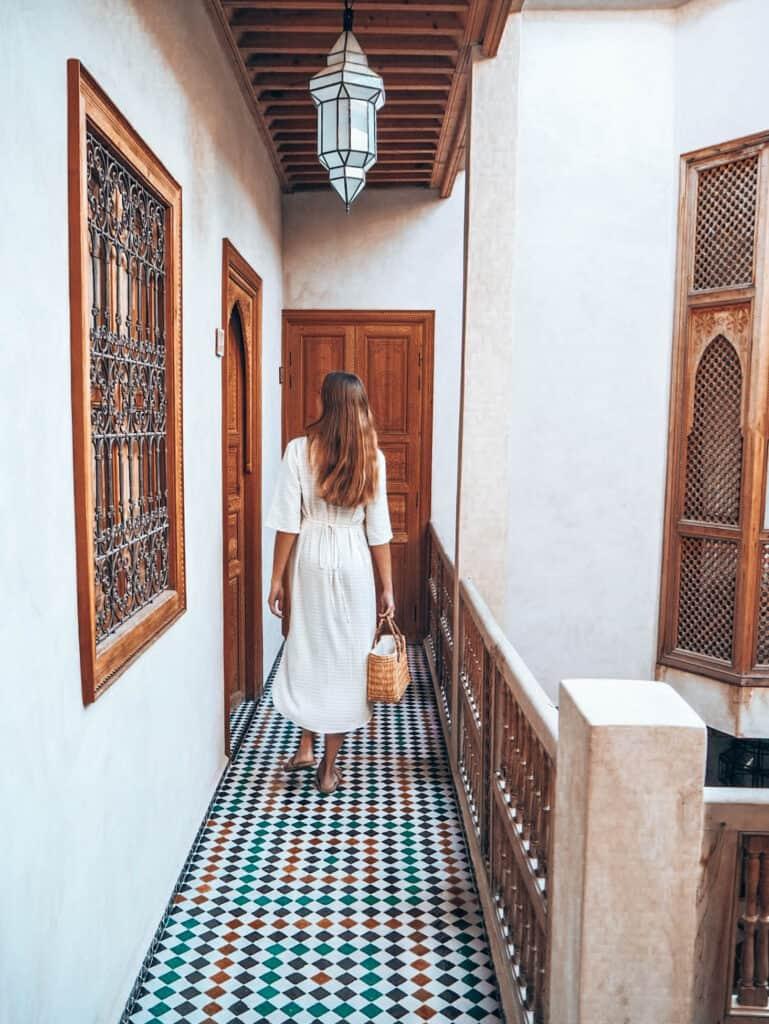 Marrakesh Riad BE Interior