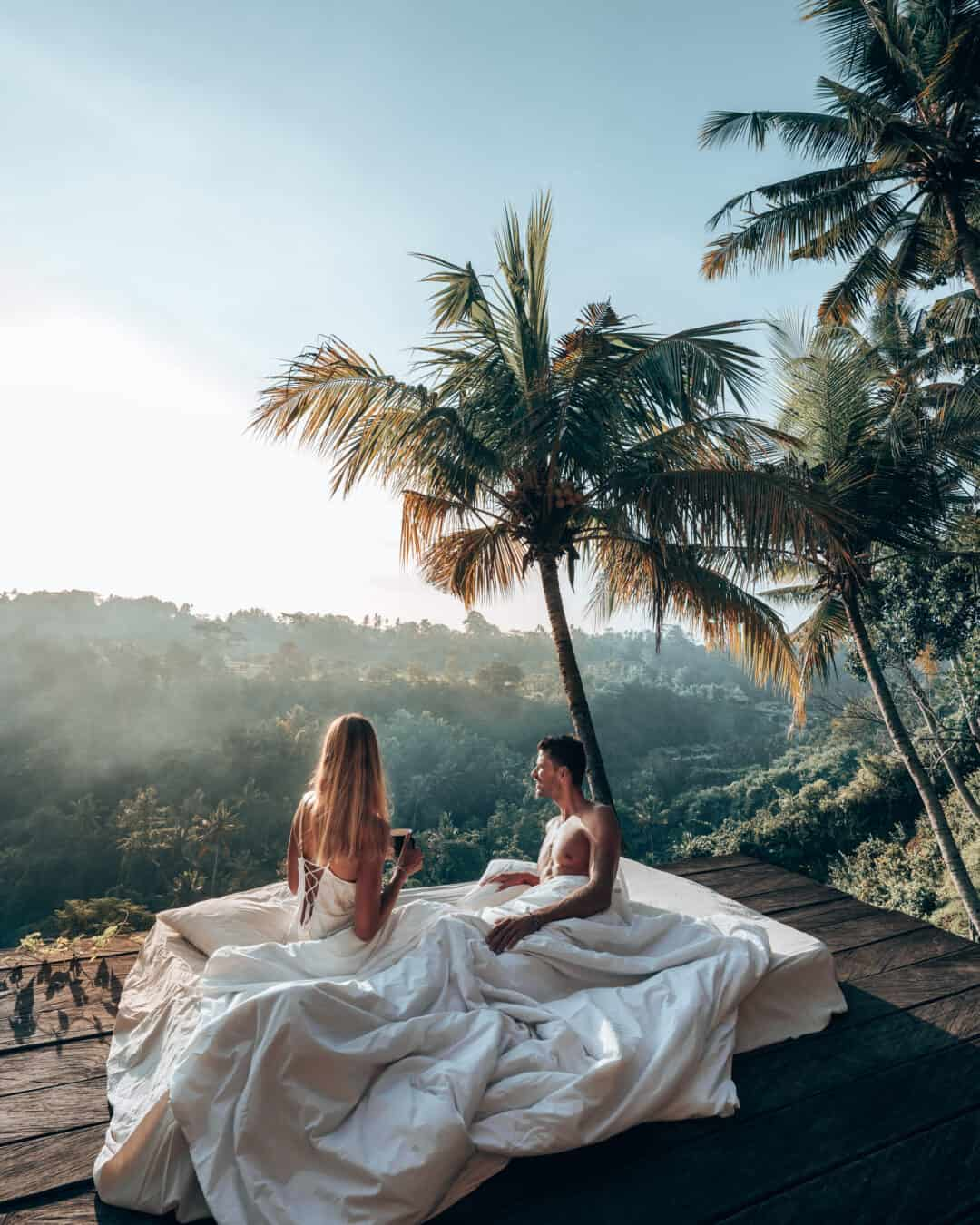 Bali Zen Hideaway Couple Sunrise Bed