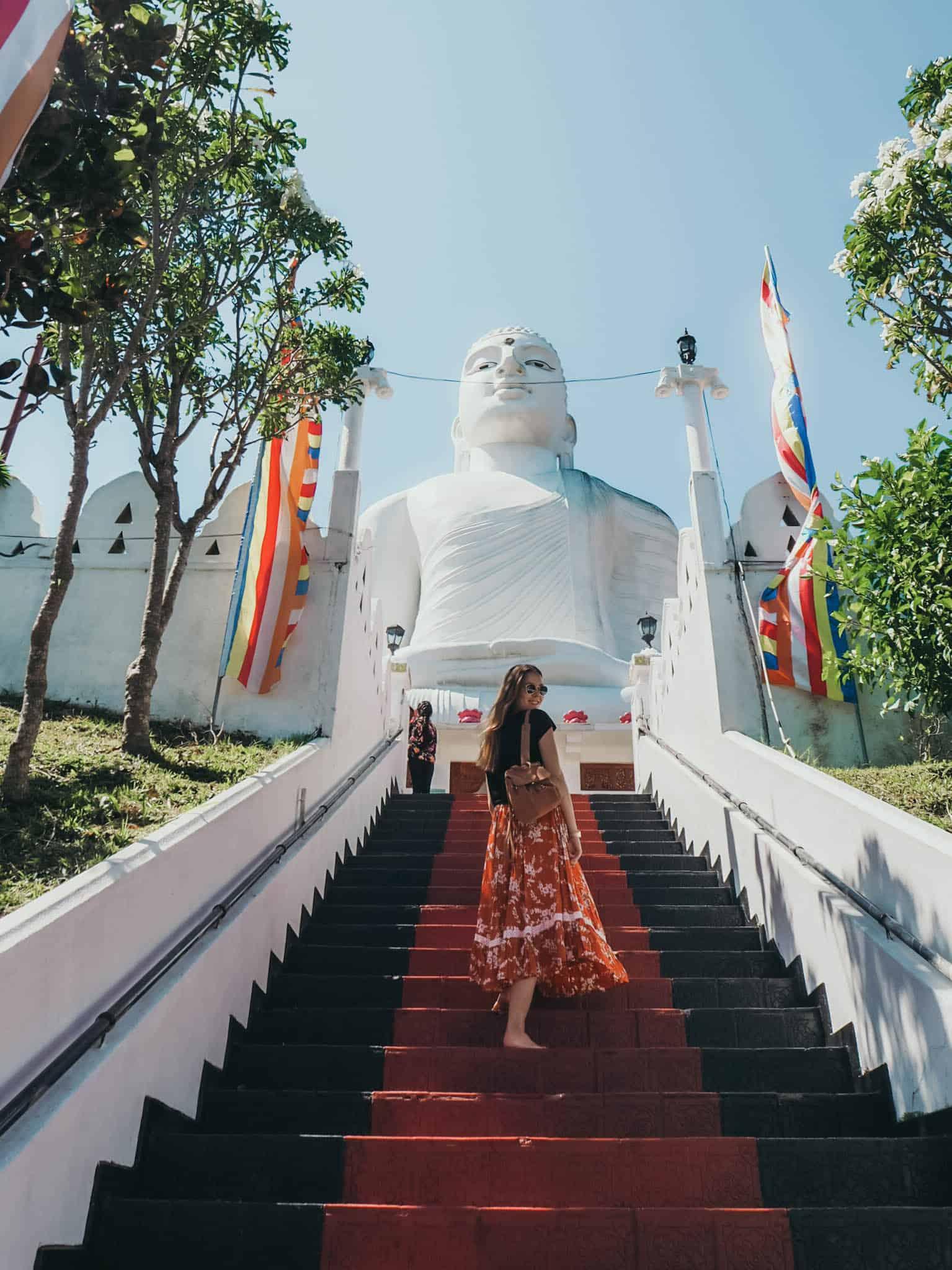 Bahirawakanda Vihara Buddha Statue Kandy