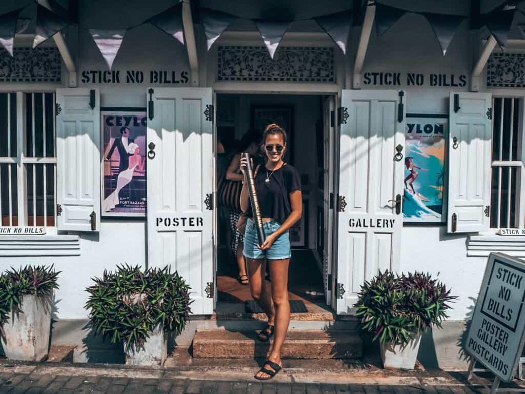 Stick No Bills store Galle Fort