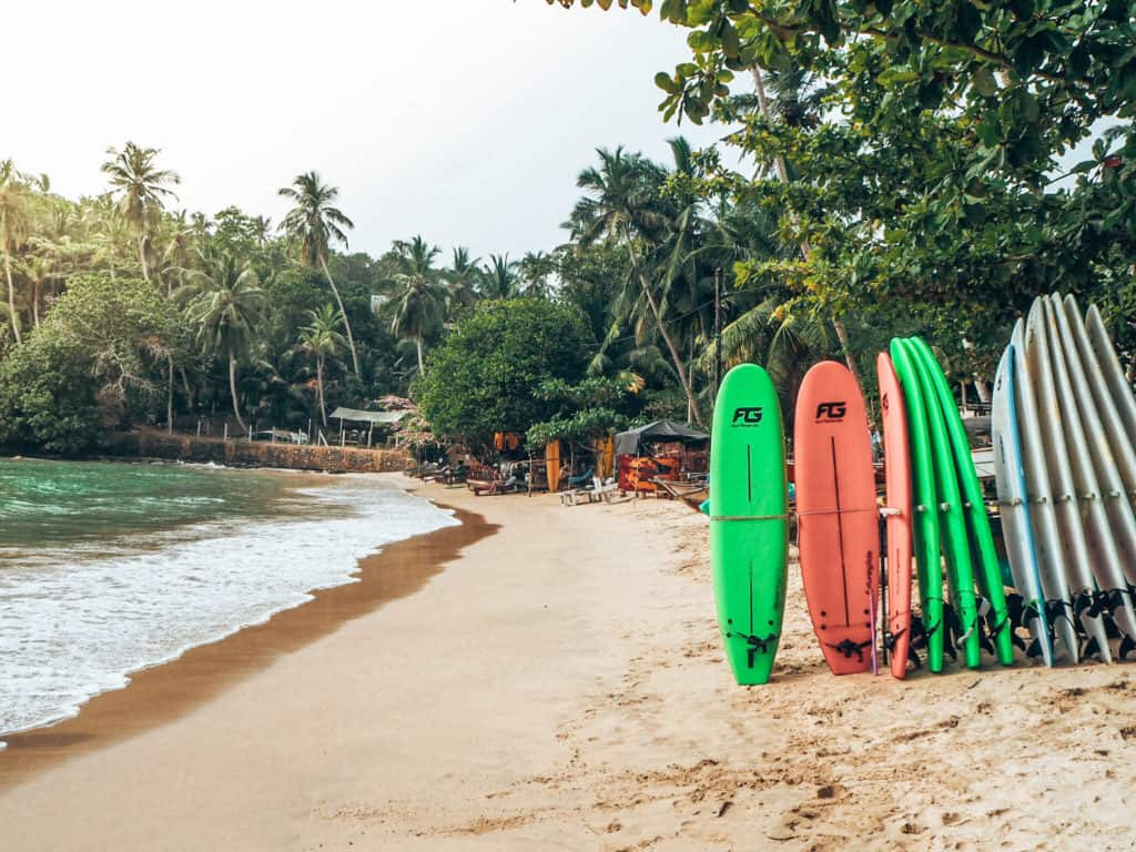 Hiriketiya Beach Surfboards