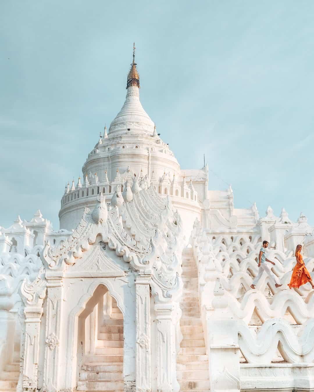 Hsinbyume Pagoda Mandalay Myanmar