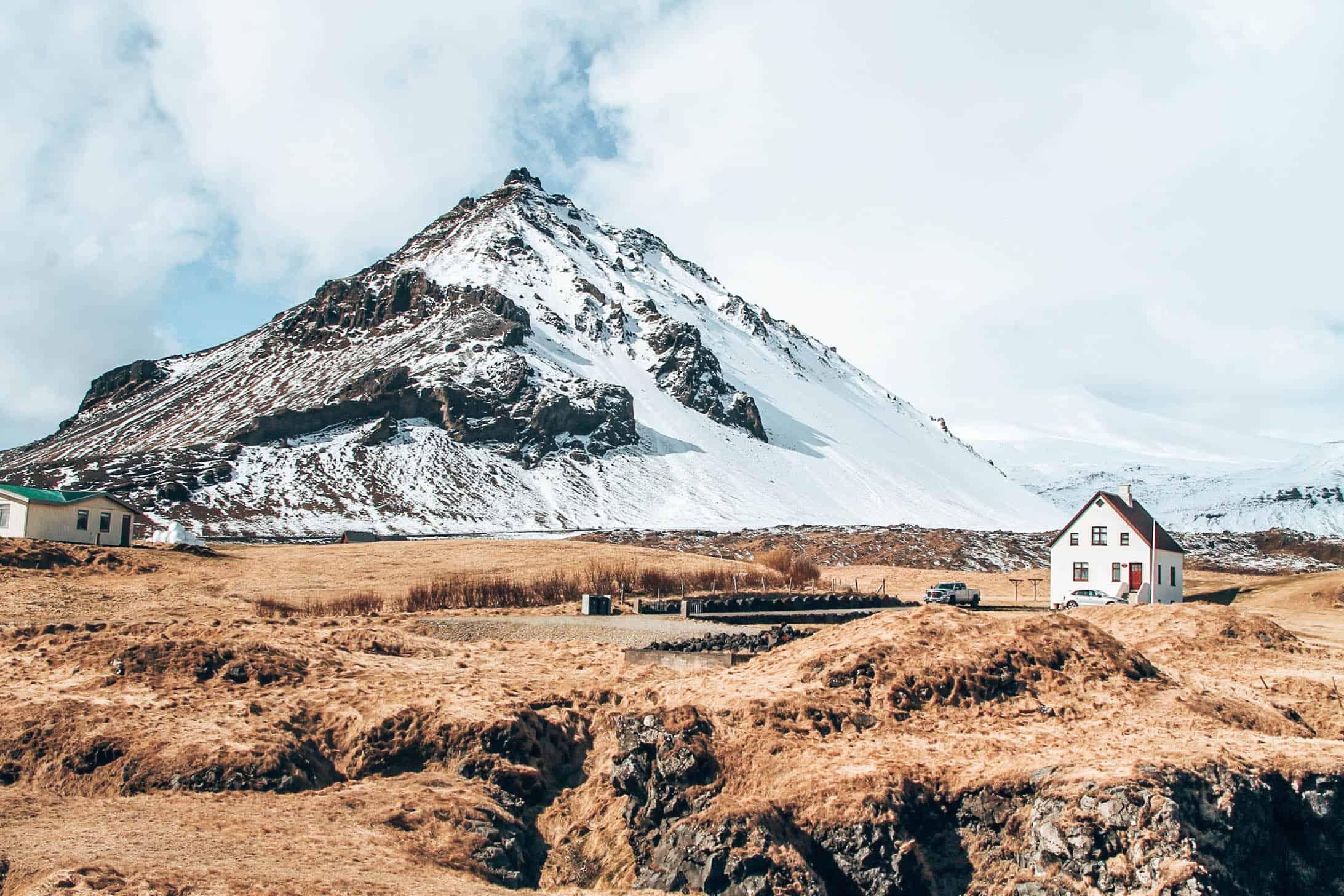 snaefellsjoekul mountain iceland
