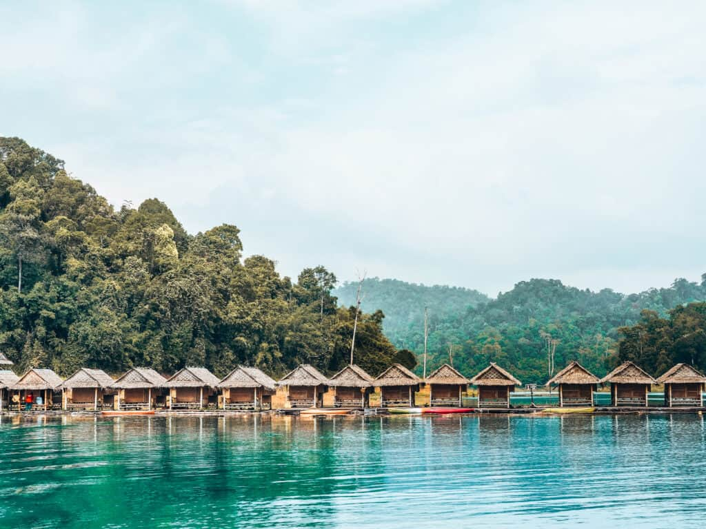 Khao Sok National Park Cottages on water
