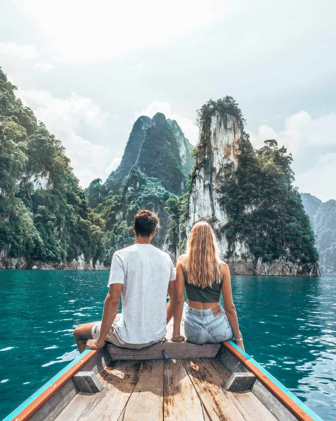 Khao Sok National Park Couple Boat