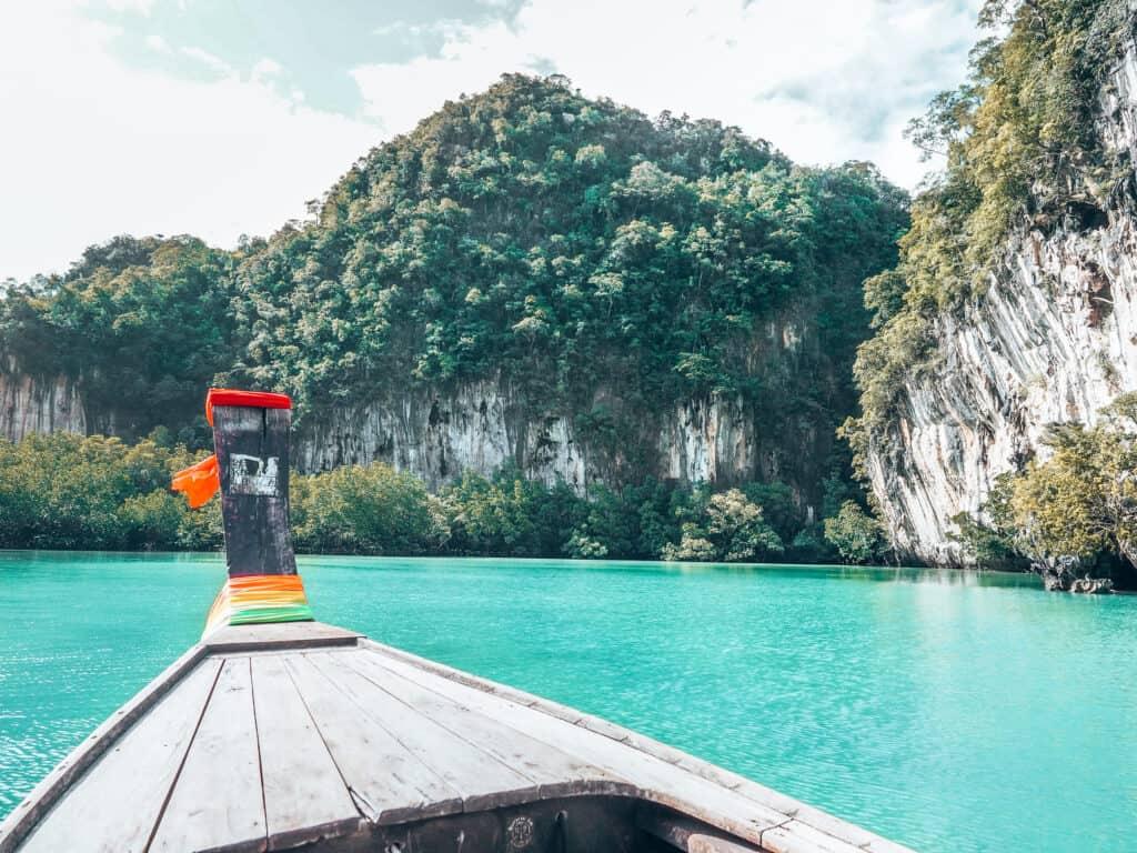 Koh Hong Island Lagoon Krabi Longtail Boat