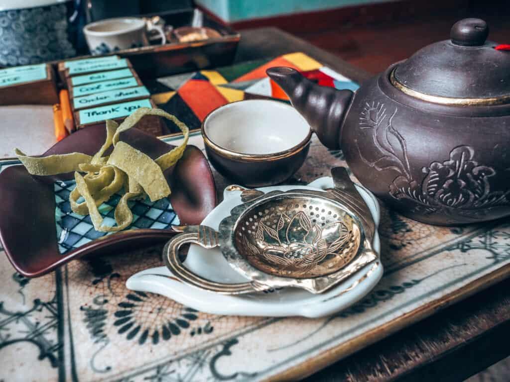 Reaching Out Teahouse Tea