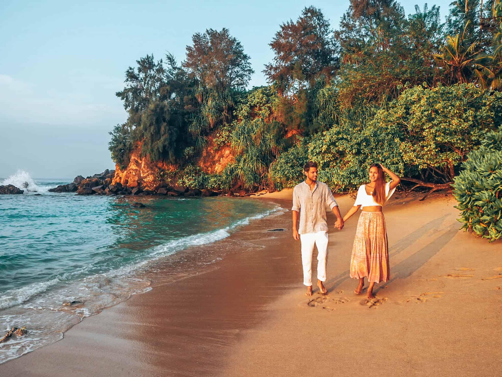 Sampath Beach Ahangama Couple Sunrise