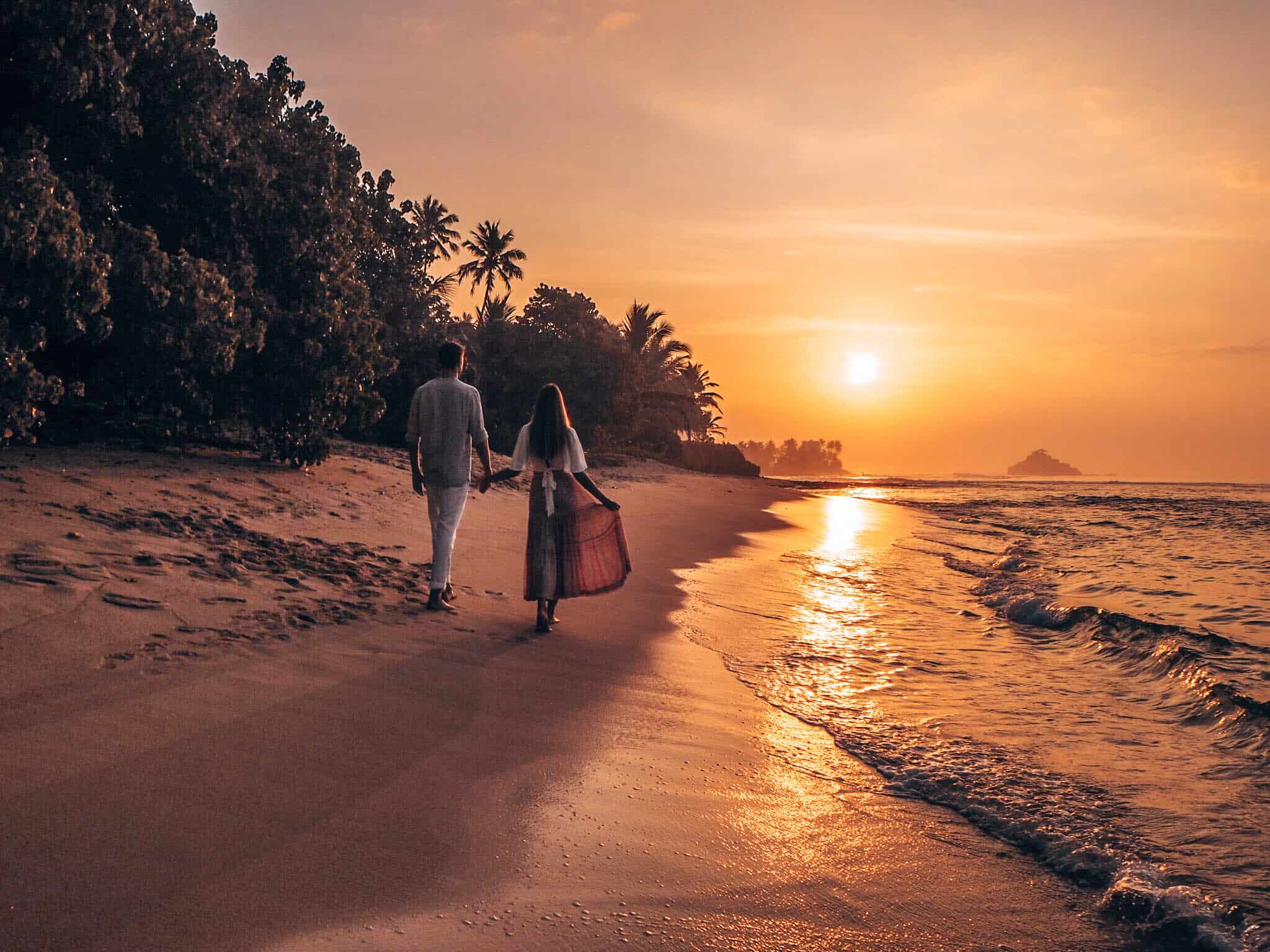 Sampath Beach Ahangama Sunrise Couple