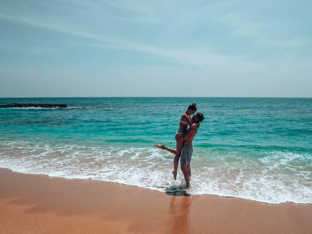 Tangalle Beach Couple
