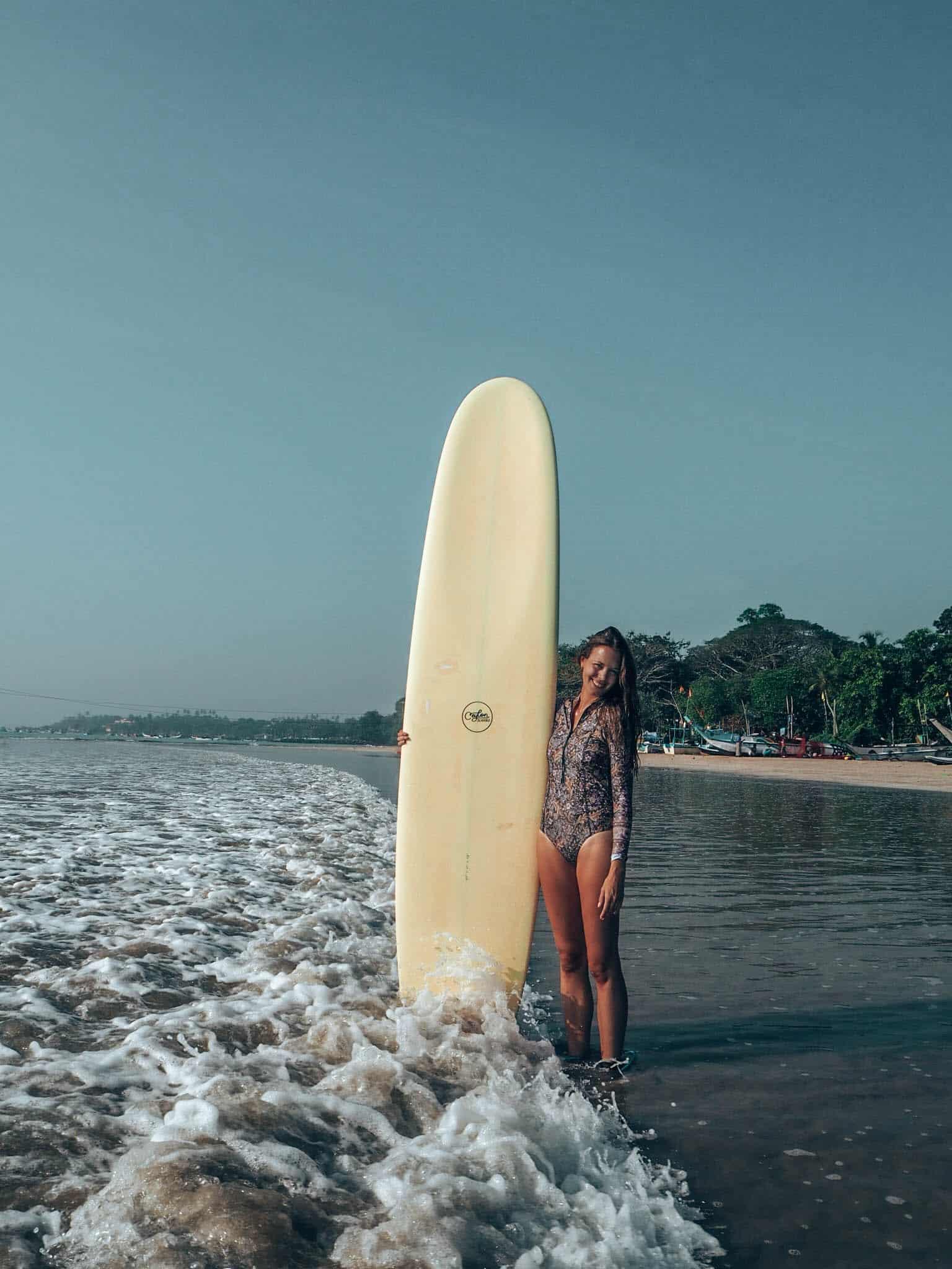 Weligama Beach Women Surfboard