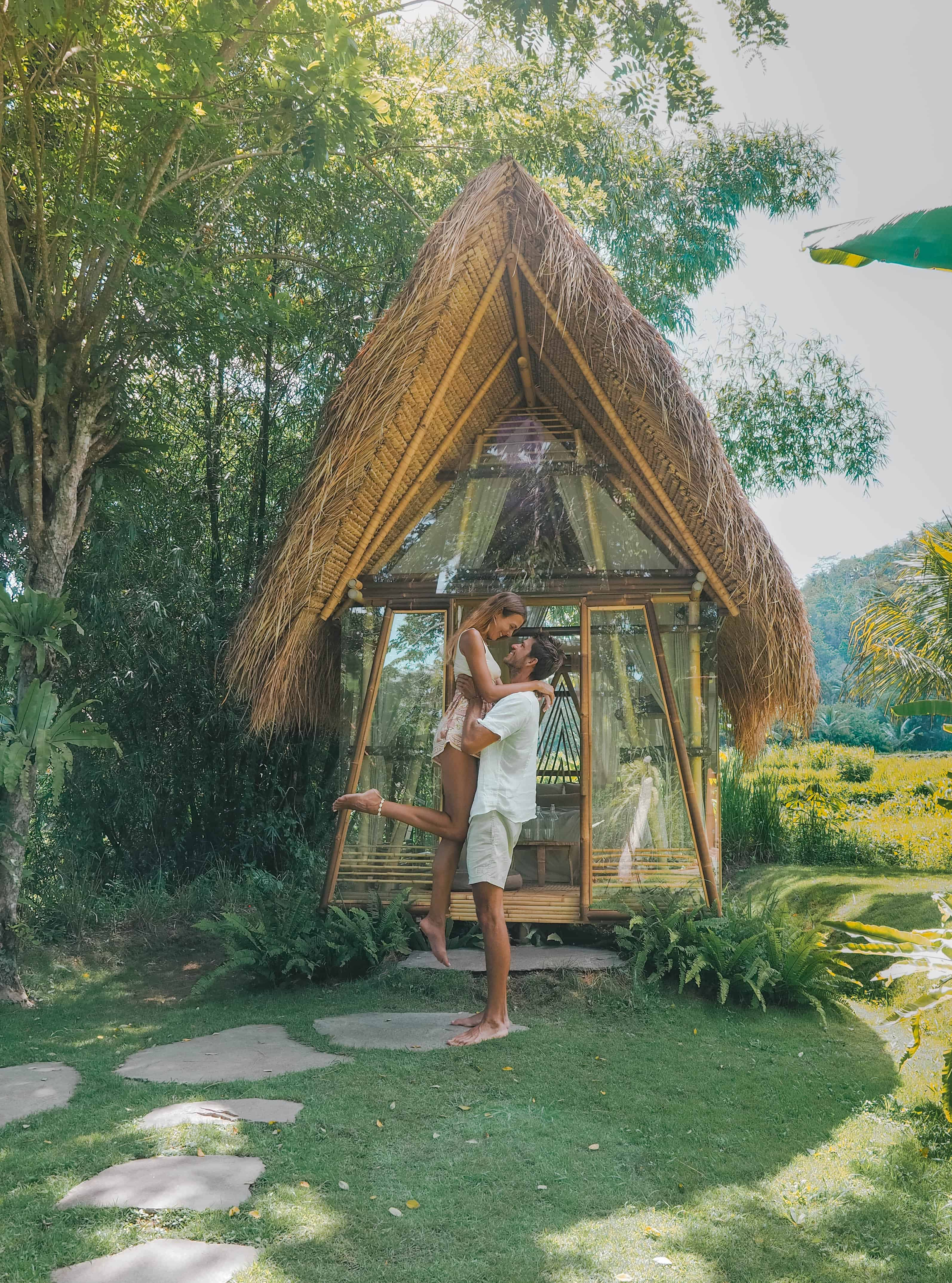 Bali Hideout Hay House Couple