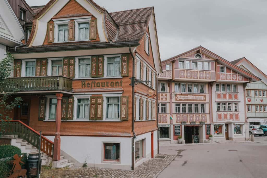 Switzerland Appenzell Street