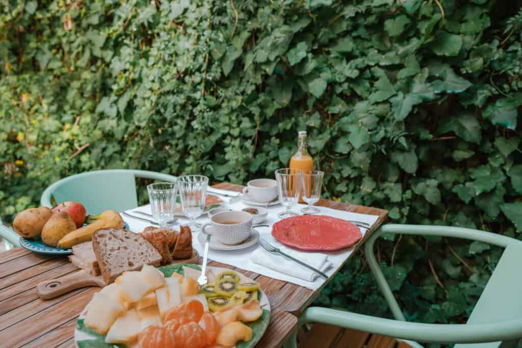 Lisbon Casa Amora Breakfast Table