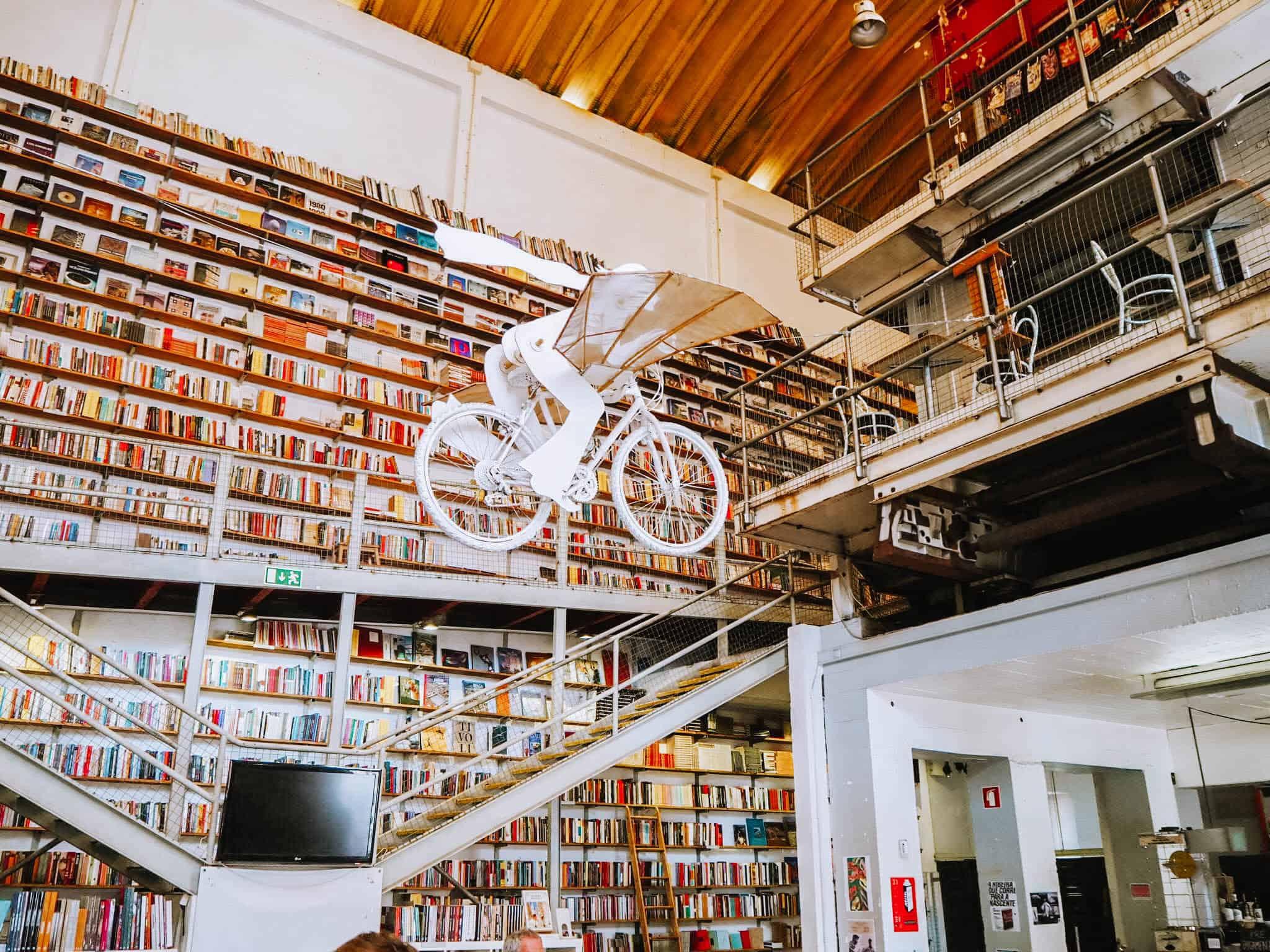 Lisbon LX Factory Library