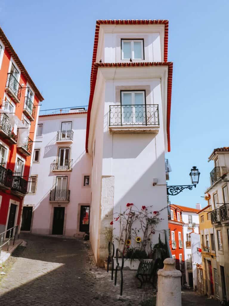 Lisbon Street House Corner
