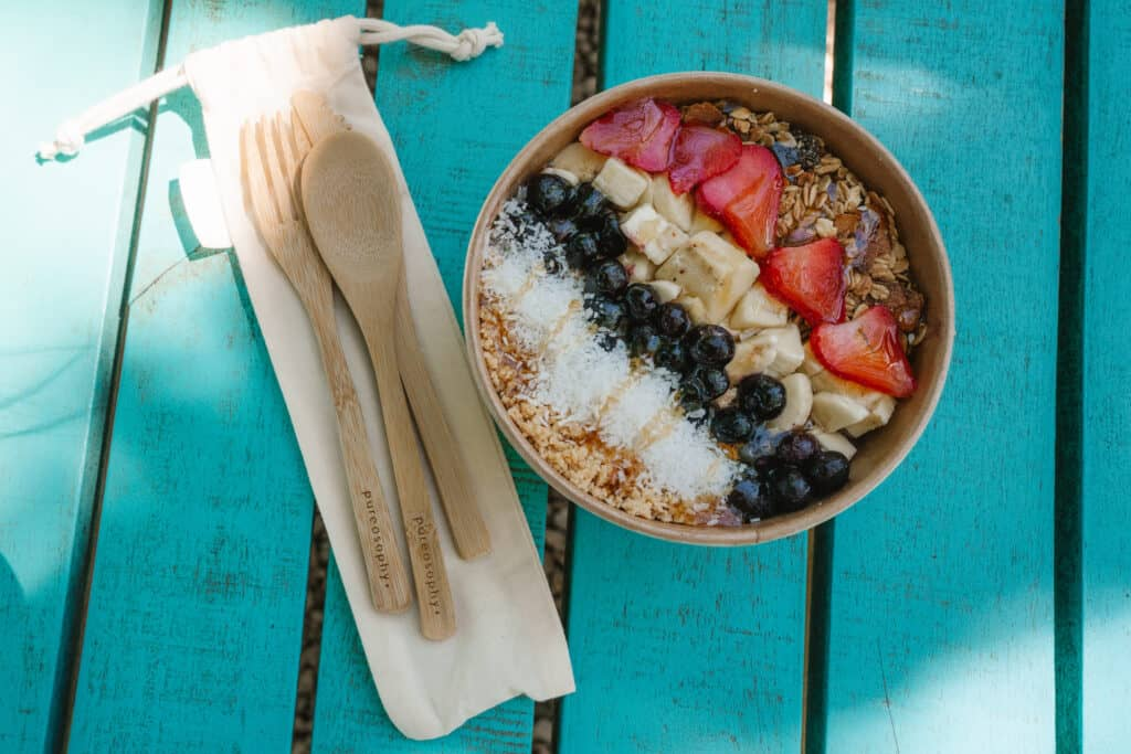 Pureosophy Cutlery Set with Smoothie Bowl