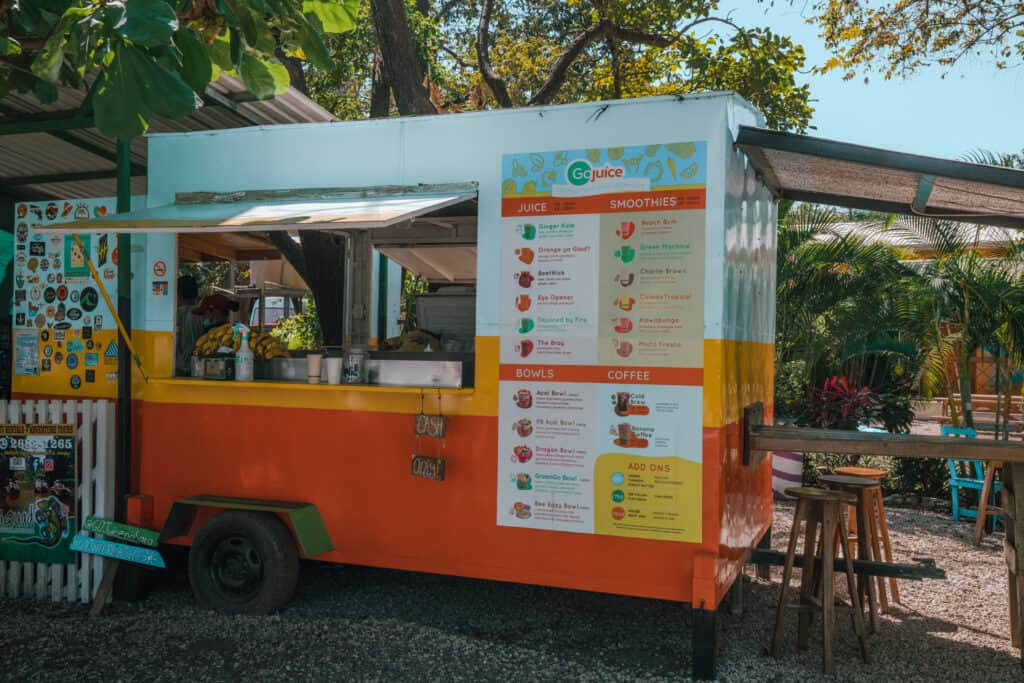 Go Juice Box in Nosara