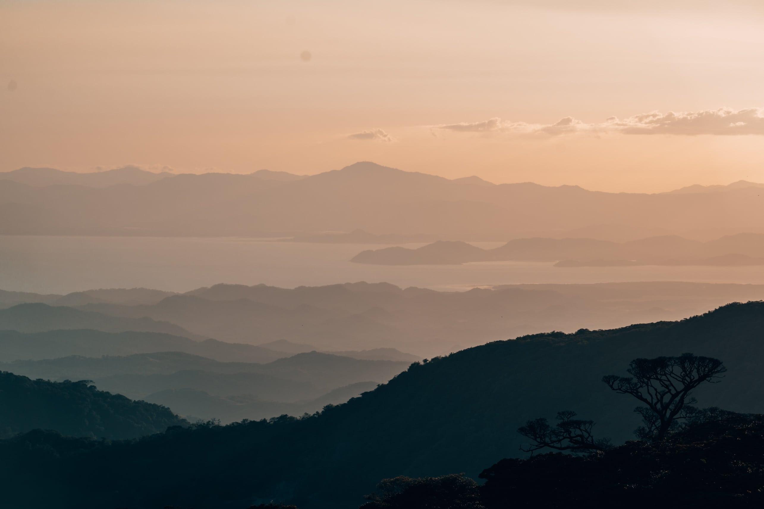 Beautiful Sunset in Monteverde Costa Rica