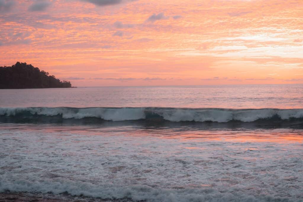 Sunset Drake Bay